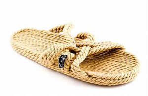 Nomadic State of Mind Rope Slippers Camel - 41