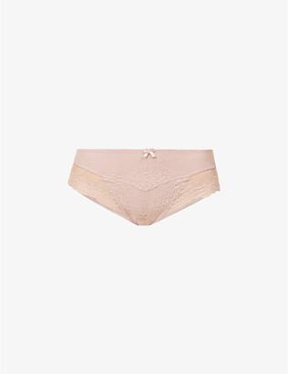 Panache Ana stretch-lace Brazilian briefs