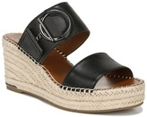 Franco Sarto Charlie Platform Wedge Espadrille Slide Sandal
