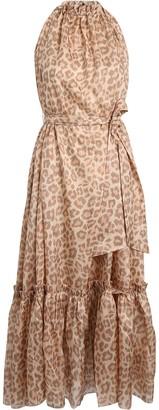 Zimmermann Kirra Leopard Silk Chiffon Dress