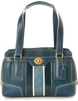 Coach Pre-Owned Leather Handbag In Shades of Blue