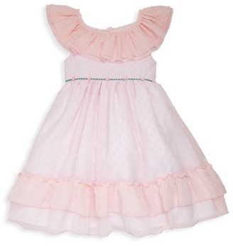 Laura Ashley Little Girl's Rosebud Ruffle Party Dress