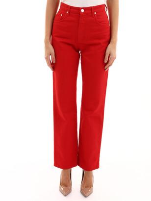MSGM Straight Leg Denim Jeans