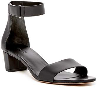 Vince Rita Block Heel Leather Sandal