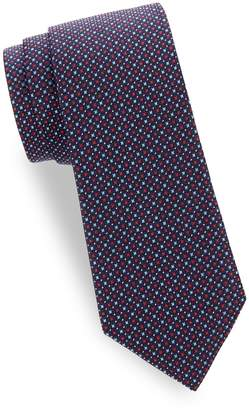 Saks Fifth Avenue Made In Italy Silk Patterned Tie