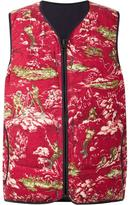 Visvim printed vest - men - Cotton/Goose Down - 4