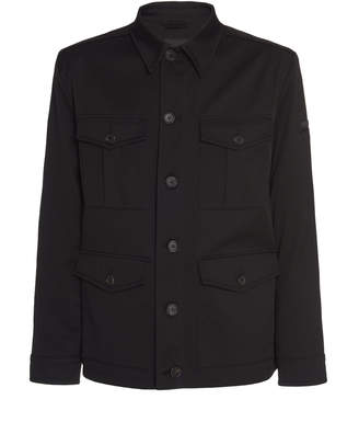 Prada Cotton-Twill Jacket Size: 46