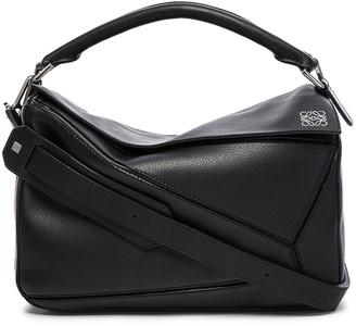 Loewe Puzzle Bag in Black | FWRD