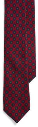 Ralph Lauren Wool Challis Narrow Tie