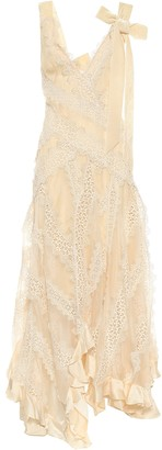 Zimmermann Charm Star silk chiffon dress