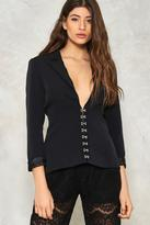 Nasty Gal nastygal Hook You In Corset Blazer