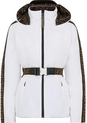Fendi Reversible Hooded Ski Jacket