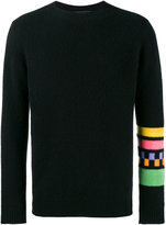 The Elder Statesman Gofa striped long sleeve jumper - men - Cashmere - S