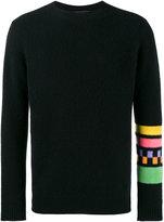 The Elder Statesman Gofa striped long sleeve jumper - men - Cashmere - XL