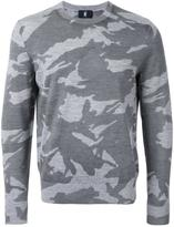 Kent & Curwen camouflage slim-fit jumper - men - Wool - XXL