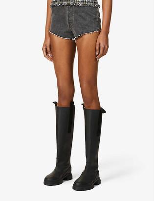 Levi's Pre-loved Levis Authorised Vintage 501 high-rise denim shorts