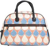 Rising Tide Fair Trade Ikat Teardrop Weekender Bag