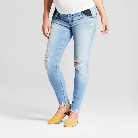 5c8a8aa9f7380 Light Wash Maternity Jeans - ShopStyle