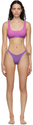 BOUND by Bond-Eye Purple and Pink The Malibu Bikini