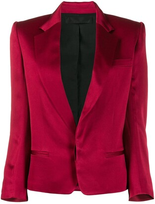 Haider Ackermann colour block blazer