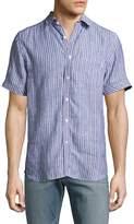 Gilded Age Men's Houston Striped Sportshirt