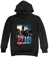 HX-Kingdom Fashion T-shirts HX-Kingdom Men's Hoodies-Chicago Pd Poster Back