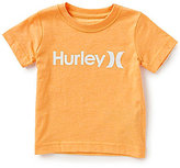 Hurley Little Boys 4T-7 One & Only Short-Sleeve Tee