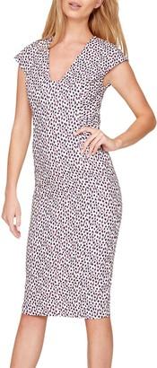 Damsel in a Dress Confetti Print Dress, Multi