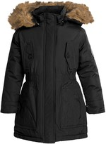 Weatherproof Expedition Parka - Insulated, Faux-Fur Hood (For Little and Big Girls)