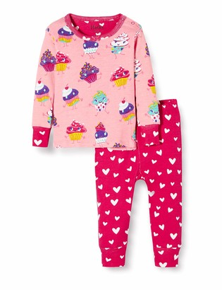 Hatley Baby Girls' Organic Cotton Long Sleeve Pyjama Sets