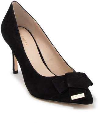Cole Haan Ophelia Suede Pointed Toe Pump