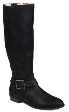 Journee Collection Winona Wide Calf Riding Boot