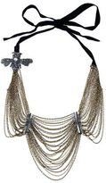 Vera Wang Embellished Layered Chain Necklace