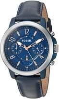 Fossil Women's ES4131 Gwynn Chronograph Leather Watch