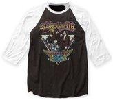 Impact Aerosmith Rock Band Music Group World Tour Adult Baseball Jersey T-Shirt Tee