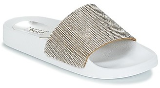 Dune London LAS VEGAS women's Mules / Casual Shoes in White