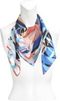 Christian Lacroix Le Bal Arlequin silk square 90x90