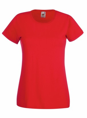 Fruit of the Loom Lady-fit Valueweight T-Shirt SS050 (XXL
