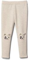 Gap Animal knee soft terry leggings