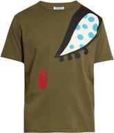J.W.Anderson Doll eye-print cotton T-shirt