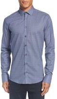 Sand Men's Print Regular Fit Cotton Sport Shirt