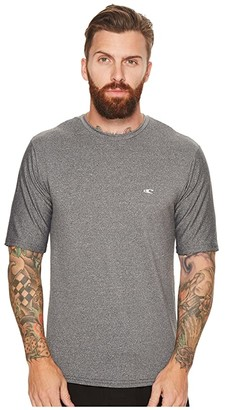 O'Neill Mixed Uv Short Sleeve Rash Tee (Graphite) Men's T Shirt