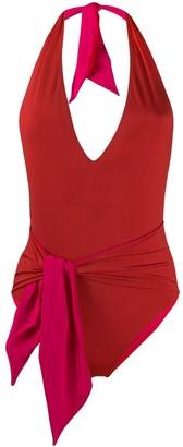 Stella McCartney Tie-Front Swimsuit