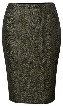 Viktor & Rolf Python Printed Skirt