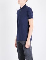 BOSS Regular-fit cotton-piqué polo shirt