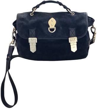 Mulberry Blue Suede Handbags