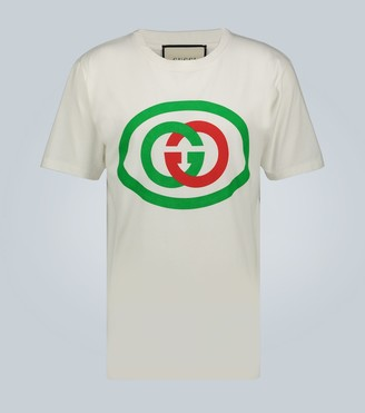 Gucci Oversized T-shirt with Interlocking G