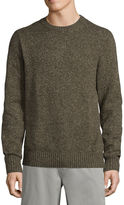 ST. JOHN'S BAY Crew Neck Long Sleeve Knit Pullover Sweater