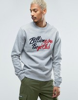 Billionaire Boys Club Sweatshirt With Embroidered Logo