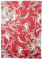 Maison Du Linge Old Rose Tea Towel - Red/Gray